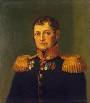 George Dow. Portrait Of Timofey Ivanovich Zmievskogo