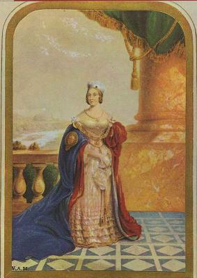 Джордж Бакстер. Английская королева