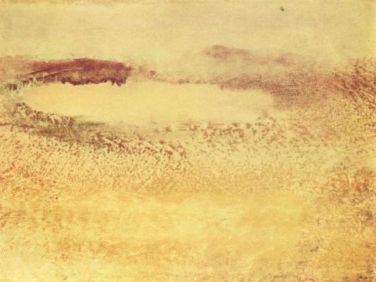 Эдгар Дега. Озеро в Пиренеях