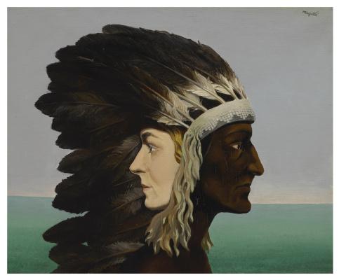 René Magritte. L'ÉTOILE DU MATIN