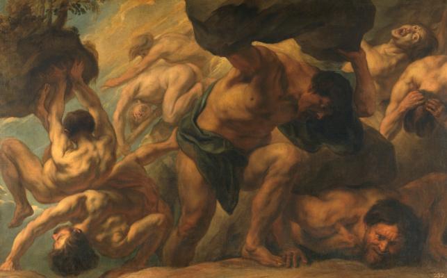 Jacob Jordaens. The fall of the titans