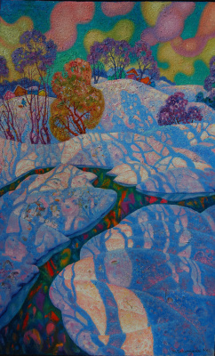 Michael Chernyavsky. Shadows in the snow