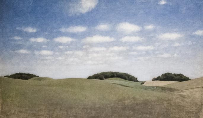 Vilhelm Hammershøi. Landscape, Leir