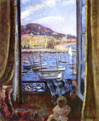 Henri Lebasque. Embankment in Saint-Pierre in Cannes