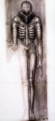 Hans Rudolph Giger. Alien - Front view