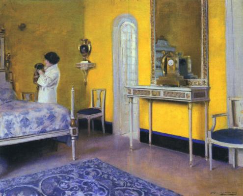 Ramon Casas i Carbó. Interior