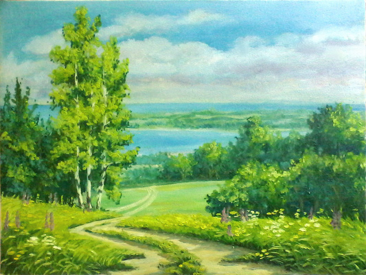 Olga Suncheleeva. Road to the sea