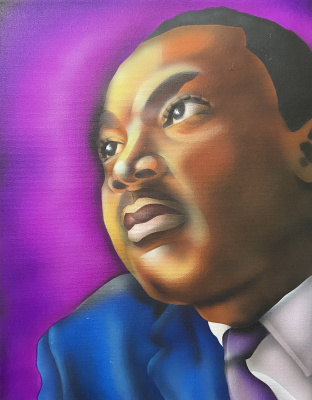 Portrait: Dr. Martin Luther King, Jr.