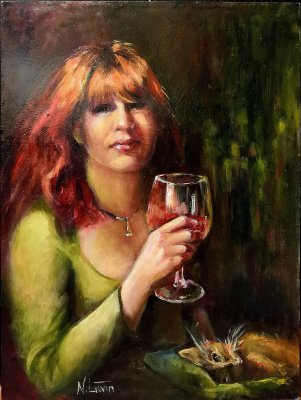 Nina Litvin. Portrait