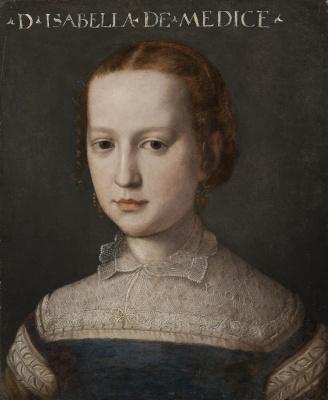 Agnolo Bronzino. Isabella de' Medici