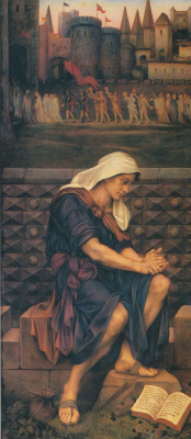 Evelyn De Morgan (Pickering). The poor man who saved the city