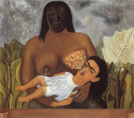 Frida Kahlo. My babysitter and I