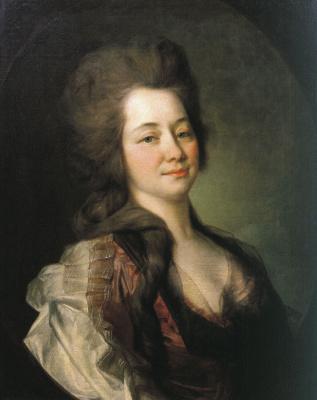 Дмитрий Григорьевич Левицкий. Портрет Марии Алексеевны Львовой. 1781