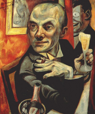 Max Beckmann. Self-portrait