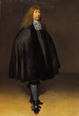 Gerard Terborch (ter Borch). Self-portrait