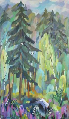Irina Valerievna Antonovskaya. Forest
