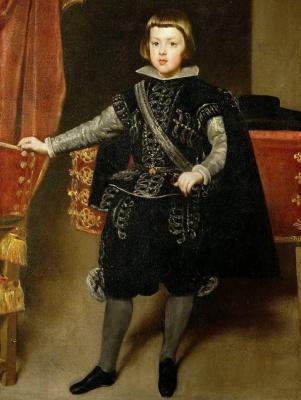 Diego Velazquez. Portrait of Prince Baltasar Carlos