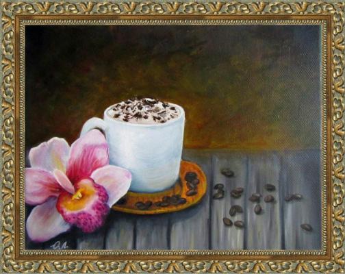 Olesya Alexandrovna Lopatin. Morning coffee