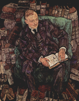 Egon Schiele. Portrait Of Hugo Koller
