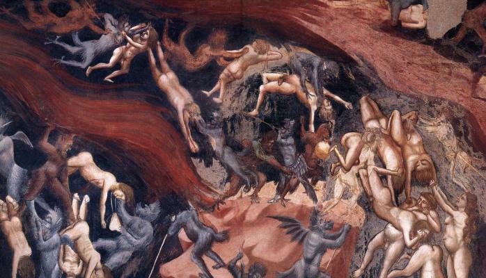 Giotto di Bondone. Judgment. Fragment 16