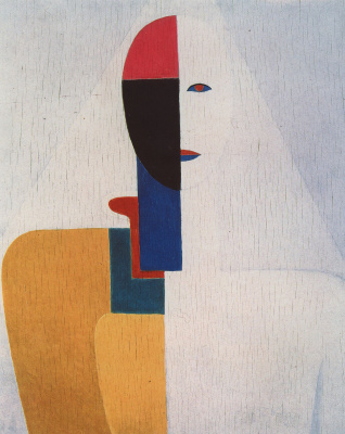 Kazimir Malevich. Half of the female figure