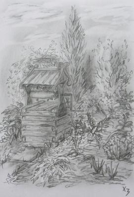 Sergei Nikolayevich Khodorenko-Zatonsky. Country landscape