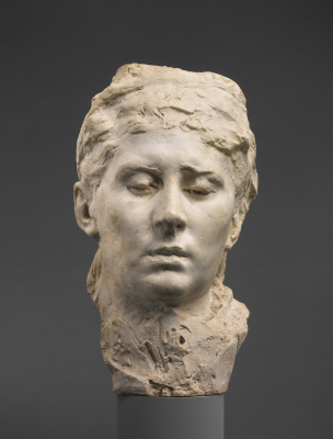 Auguste Rodin. Mask Rose Bures