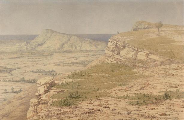 Ричард Дадд. Rhodes island landscape