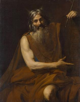 Valentin de Boulogne. Moses