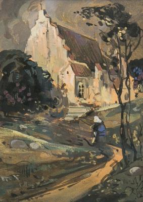 Victor Ivanovich Zarubin. Brittany. The late nineteenth century.