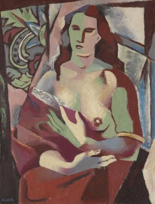 Андре Лот. Большая женская фигура. 1923
