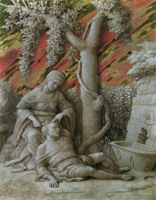 Andrea Mantegna. Samson and Delilah