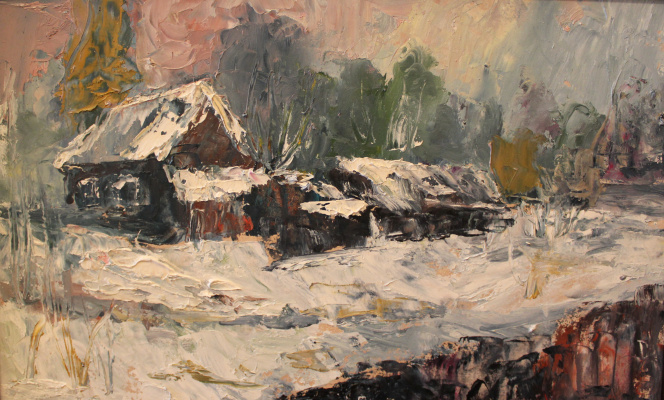 Love Sergeyevna Nikulina. Winter day