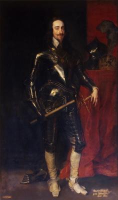 Антонис ван Дейк. Портрет короля Карла I