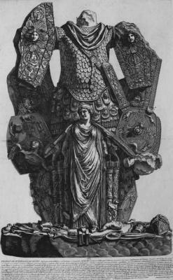 Джованни Баттиста Пиранези. Памятник в честь победы при Акциуме