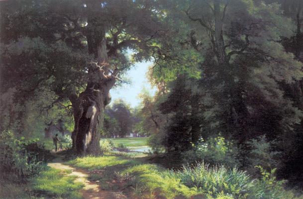 Lev Lvovich Kamenev. Landscape