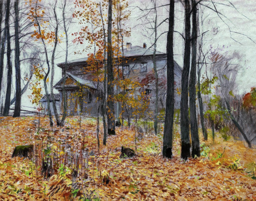 Isaac Levitan. Autumn. Estate