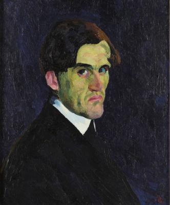 Giovanni Giacometti. Portrait Zaccaria Giacometti