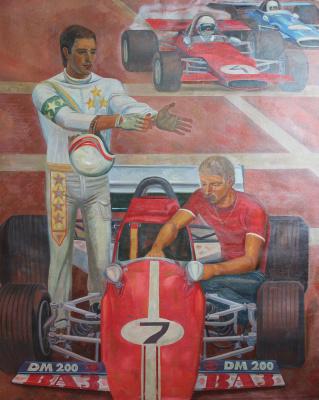 Евгений Александрович Казанцев. Car racers