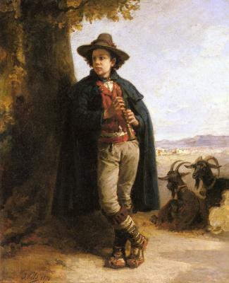 Изидор Пильс. Мальчик-пастух
