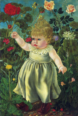Otto Dix. Nelly with toy