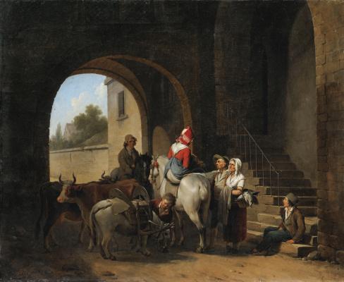 Louis-Leopold Boi. White horse