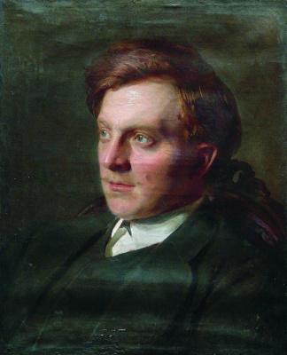 Илья Ефимович Репин. Портрет студента И. Т. Савенкова