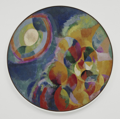 Robert Delaunay. Sun and moon