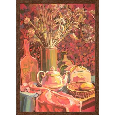 Elena Lobanova. Still-life with flowers