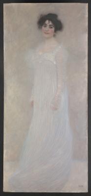 Gustav Klimt. Portrait Of Serena Lederer