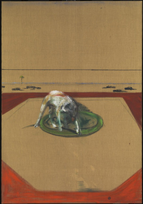 Francis Bacon. Sketch dog