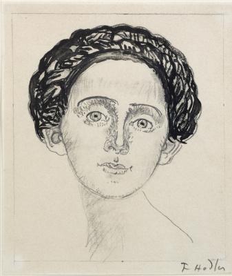 Ferdinand Hodler. Bertha Hodler