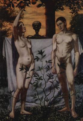 Ханс Тома. Адам и Ева