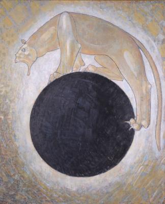 Леван Семенович Цуцкиридзе. Витязь в тигровой шкуре-иллюстрация к поэме Шота Руставели